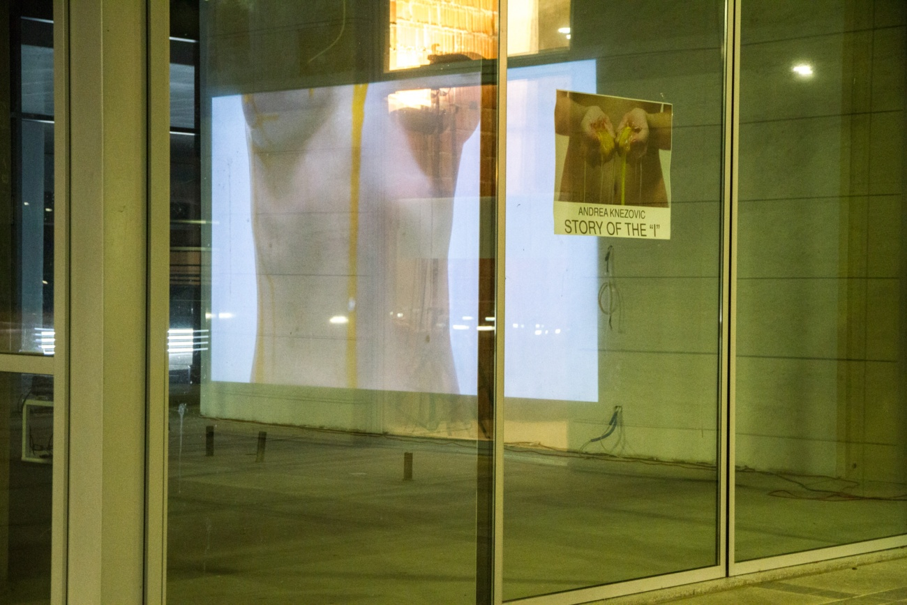 """Andrea Knezovic Story of the """"I"""" popup34 exhibition featured artworks photography video"""